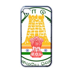 Seal Of Indian State Of Tamil Nadu  Apple Iphone 4 Case (black) by abbeyz71