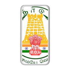 Seal Of Indian State Of Tamil Nadu  Apple Iphone 5c Seamless Case (white) by abbeyz71