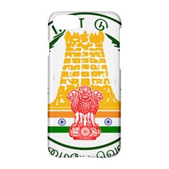 Seal Of Indian State Of Tamil Nadu  Apple Iphone 7 Hardshell Case by abbeyz71