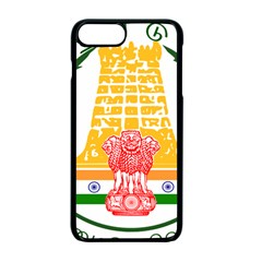 Seal Of Indian State Of Tamil Nadu  Apple Iphone 7 Plus Seamless Case (black) by abbeyz71