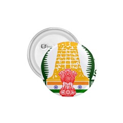 Seal Of Indian State Of Tamil Nadu  1 75  Buttons by abbeyz71