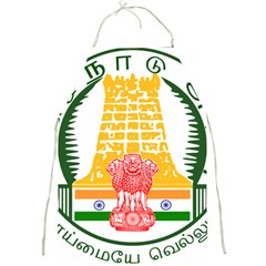 Seal Of Indian State Of Tamil Nadu  Full Print Aprons by abbeyz71