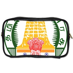 Seal Of Indian State Of Tamil Nadu  Toiletries Bags 2 Side by abbeyz71