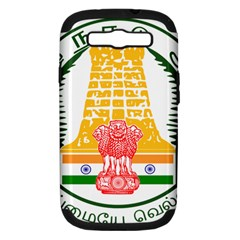 Seal Of Indian State Of Tamil Nadu  Samsung Galaxy S Iii Hardshell Case (pc+silicone) by abbeyz71