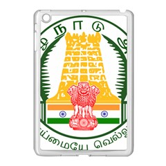 Seal Of Indian State Of Tamil Nadu  Apple Ipad Mini Case (white) by abbeyz71