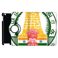 Seal Of Indian State Of Tamil Nadu  Apple Ipad 3/4 Flip 360 Case by abbeyz71