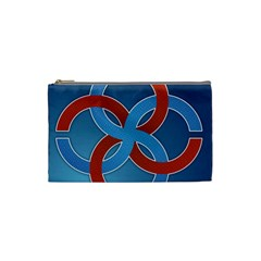 Svadebnik Symbol Slave Patterns Cosmetic Bag (small)  by Nexatart