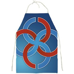 Svadebnik Symbol Slave Patterns Full Print Aprons by Nexatart