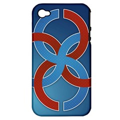 Svadebnik Symbol Slave Patterns Apple Iphone 4/4s Hardshell Case (pc+silicone) by Nexatart