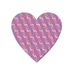 Pattern Abstract Squiggles Gliftex Heart Magnet
