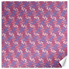 Pattern Abstract Squiggles Gliftex Canvas 20  X 20