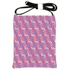 Pattern Abstract Squiggles Gliftex Shoulder Sling Bags