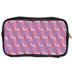 Pattern Abstract Squiggles Gliftex Toiletries Bags 2 Side by Nexatart