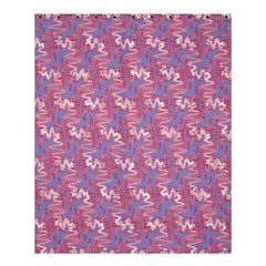 Pattern Abstract Squiggles Gliftex Shower Curtain 60  X 72  (medium)  by Nexatart