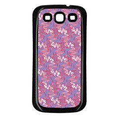 Pattern Abstract Squiggles Gliftex Samsung Galaxy S3 Back Case (black)