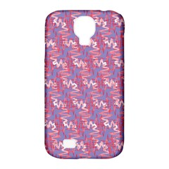 Pattern Abstract Squiggles Gliftex Samsung Galaxy S4 Classic Hardshell Case (pc+silicone) by Nexatart
