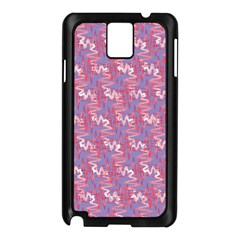 Pattern Abstract Squiggles Gliftex Samsung Galaxy Note 3 N9005 Case (black)