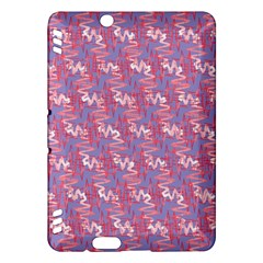Pattern Abstract Squiggles Gliftex Kindle Fire Hdx Hardshell Case by Nexatart