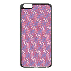 Pattern Abstract Squiggles Gliftex Apple Iphone 6 Plus/6s Plus Black Enamel Case by Nexatart