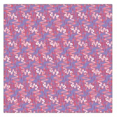 Pattern Abstract Squiggles Gliftex Large Satin Scarf (square)