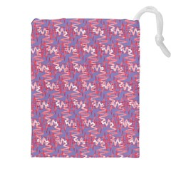 Pattern Abstract Squiggles Gliftex Drawstring Pouches (xxl)