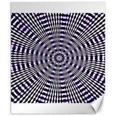 Pattern Stripes Background Canvas 8  X 10  by Nexatart
