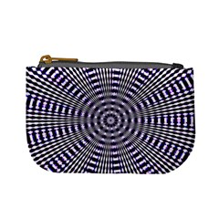 Pattern Stripes Background Mini Coin Purses