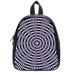 Pattern Stripes Background School Bags (small)  by Nexatart