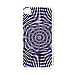 Pattern Stripes Background Apple Iphone 4 Case (white) by Nexatart