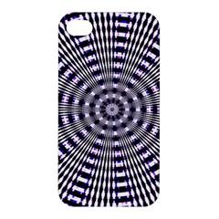 Pattern Stripes Background Apple Iphone 4/4s Premium Hardshell Case