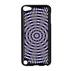 Pattern Stripes Background Apple Ipod Touch 5 Case (black)