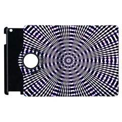 Pattern Stripes Background Apple Ipad 2 Flip 360 Case by Nexatart