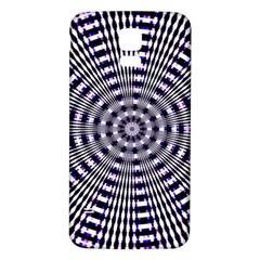 Pattern Stripes Background Samsung Galaxy S5 Back Case (white)