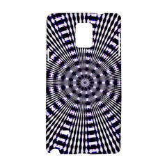 Pattern Stripes Background Samsung Galaxy Note 4 Hardshell Case