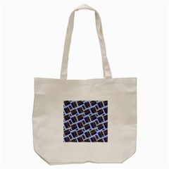 Abstract Pattern Seamless Artwork Tote Bag (cream) by Nexatart