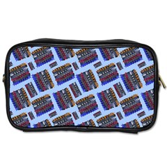Abstract Pattern Seamless Artwork Toiletries Bags 2 Side by Nexatart