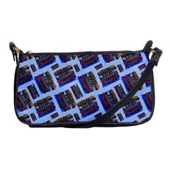Abstract Pattern Seamless Artwork Shoulder Clutch Bags by Nexatart