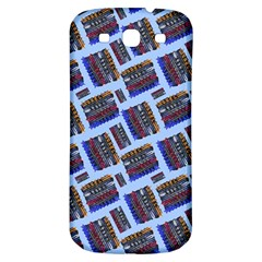 Abstract Pattern Seamless Artwork Samsung Galaxy S3 S Iii Classic Hardshell Back Case by Nexatart