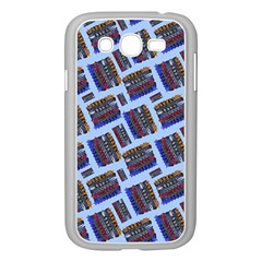 Abstract Pattern Seamless Artwork Samsung Galaxy Grand Duos I9082 Case (white) by Nexatart