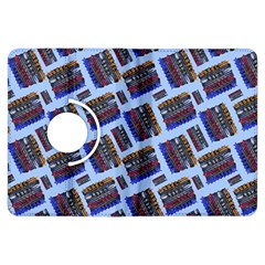 Abstract Pattern Seamless Artwork Kindle Fire Hdx Flip 360 Case by Nexatart
