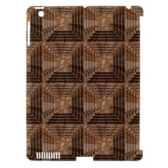 Collage Stone Wall Texture Apple Ipad 3/4 Hardshell Case (compatible With Smart Cover) by Nexatart