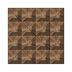 Collage Stone Wall Texture Acrylic Tangram Puzzle (6  X 6 )
