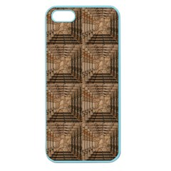 Collage Stone Wall Texture Apple Seamless Iphone 5 Case (color)
