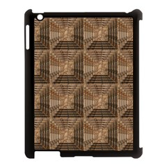 Collage Stone Wall Texture Apple Ipad 3/4 Case (black)