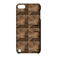 Collage Stone Wall Texture Apple Ipod Touch 5 Hardshell Case With Stand