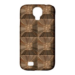 Collage Stone Wall Texture Samsung Galaxy S4 Classic Hardshell Case (pc+silicone)