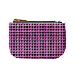 Pattern Grid Background Mini Coin Purses