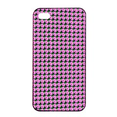 Pattern Grid Background Apple Iphone 4/4s Seamless Case (black) by Nexatart