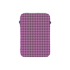 Pattern Grid Background Apple Ipad Mini Protective Soft Cases by Nexatart