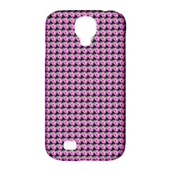 Pattern Grid Background Samsung Galaxy S4 Classic Hardshell Case (pc+silicone) by Nexatart
